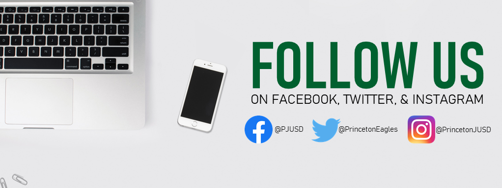 Follow Us on Facebook, Twitter, and Instagram